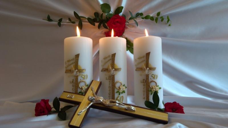 Jubileuszowe świece