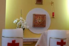 Oltarz w kaplicy Domu Generalnego