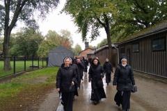 Pielgrzymka do obozu w Oświęcimiu (1)