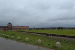 Pielgrzymka do obozu w Oświęcimiu (2)