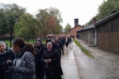 Pielgrzymka do obozu w Oświęcimiu (6)