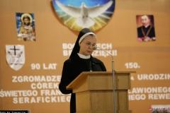 Matka Klara Radczak, przełożona Generalna Zgromadzenia