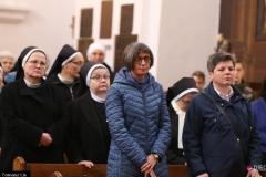 Siostry podczas Mszy św.