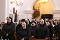 Siostry podczas uroczystej Mszy św.